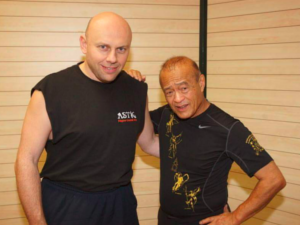 Igor Sucevic with Dan Inosanto